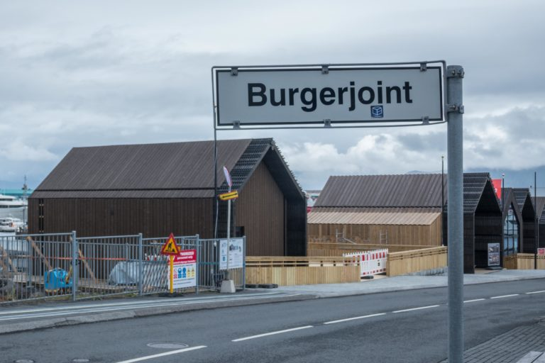schräges Reykjavik