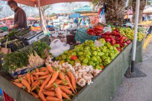 Markttag in Kalamata
