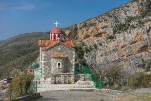 Ausblick Kloster Agios Johannis Prodromou