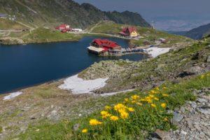 Transfagarasan Lake Balea