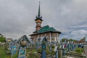 Sapanta fröhlicher Friedhof